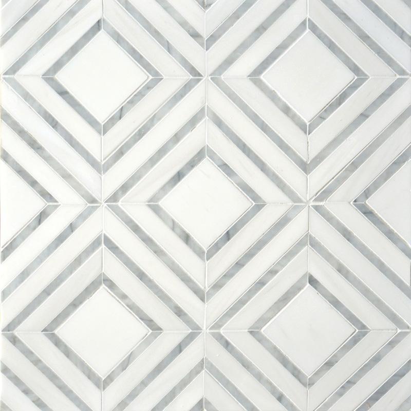 Avenza Light, Dolomite Multi Finish 22,38x27,94 Yildiz Mermer Mozaik