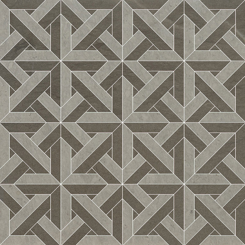 Britannia, Bosphorus Multi Finish 24,6x24,6 Marmara Limestone Mozaik