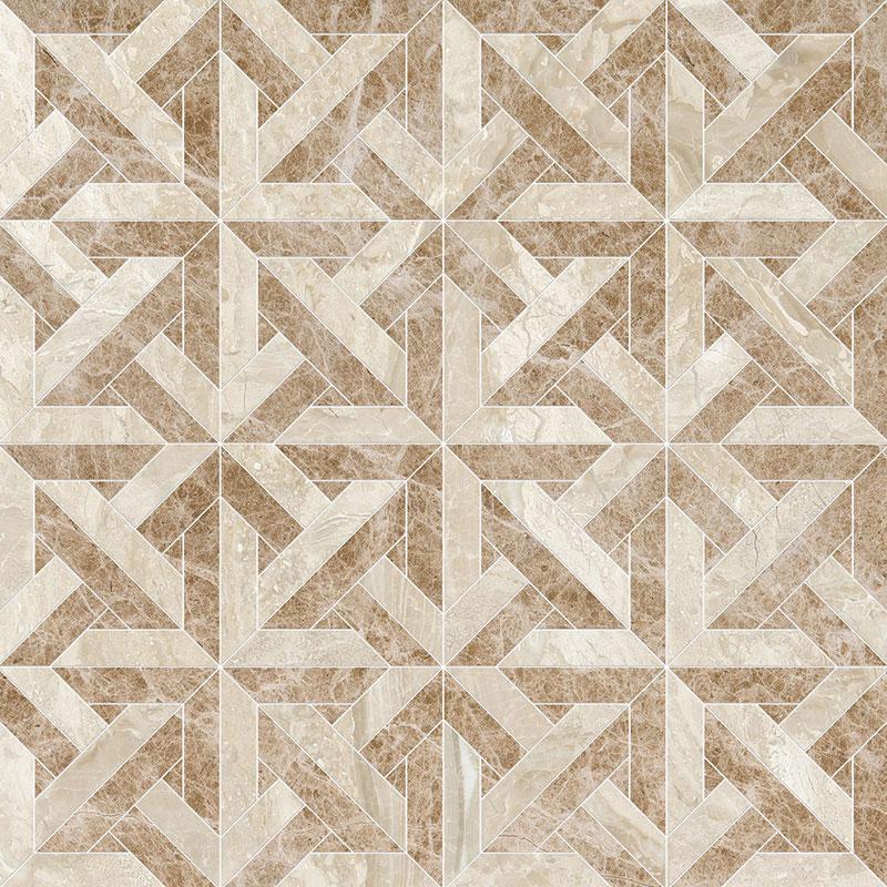 Diana Royal, Paradise Multi Finish 24,6x24,6 Marmara Mermer Mozaik