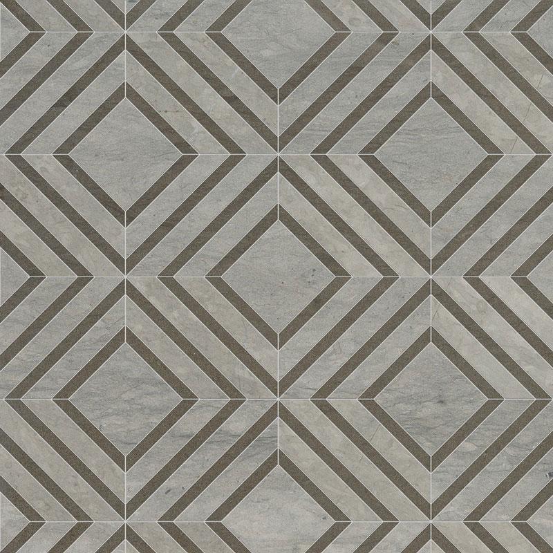 Thala Gray Honed 22,38x27,94 Yildiz Limestone Mozaik