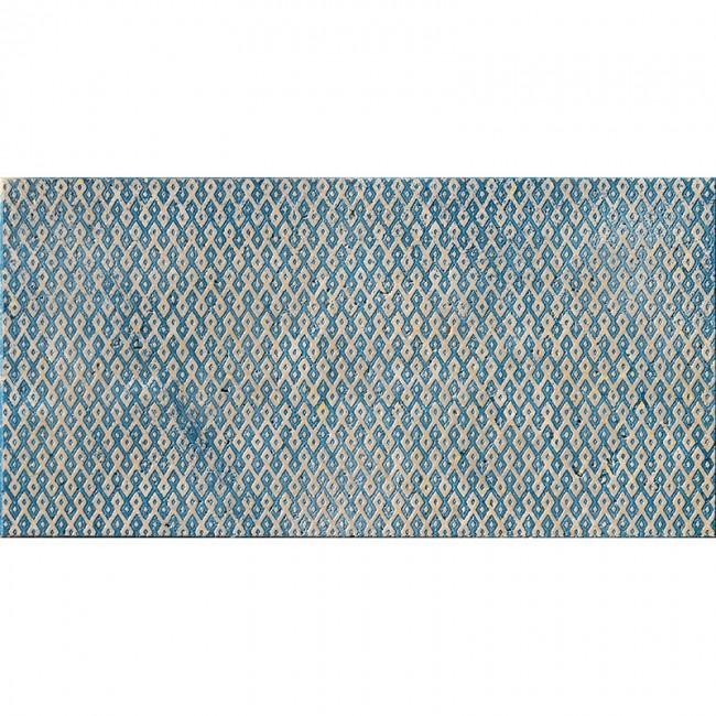 Ottoman Textile 1 Indigo 30,5x61 Mermer Fayans
