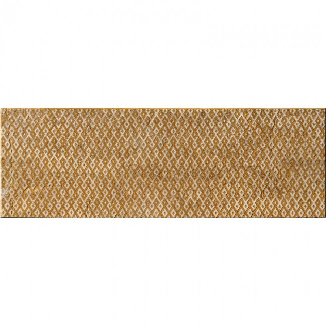 Ottoman Textile 1 Ocra 10x30,5 Mermer Fayans