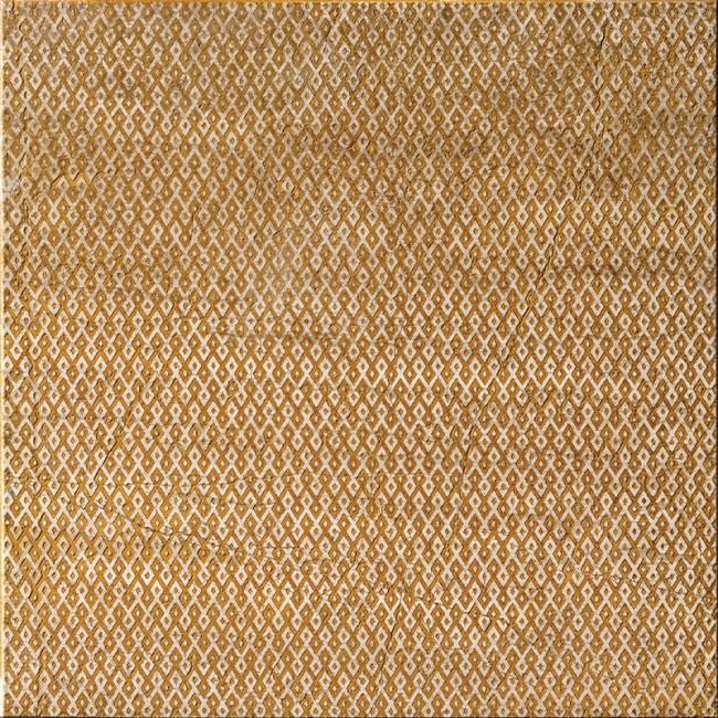 Ottoman Textile 1 Ocra 30,5x30,5 Mermer Fayans