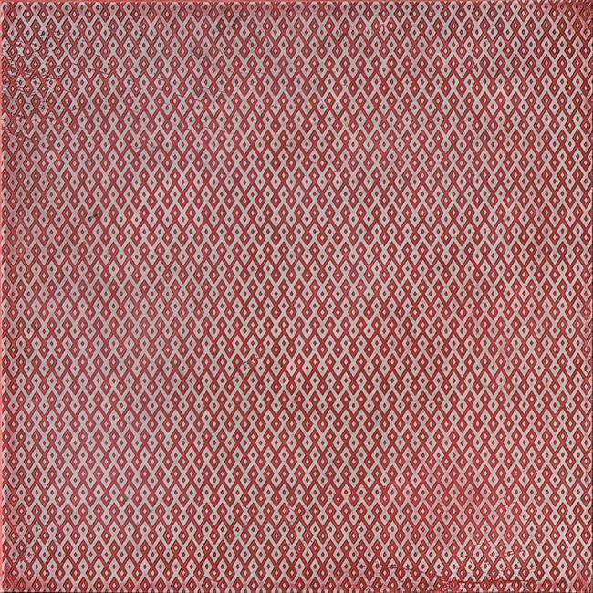 Ottoman Textile 1 Rose 10x10 Mermer Fayans