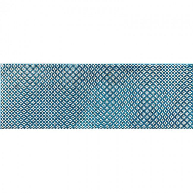 Ottoman Textile 2 Indigo 10x30,5 Mermer Fayans