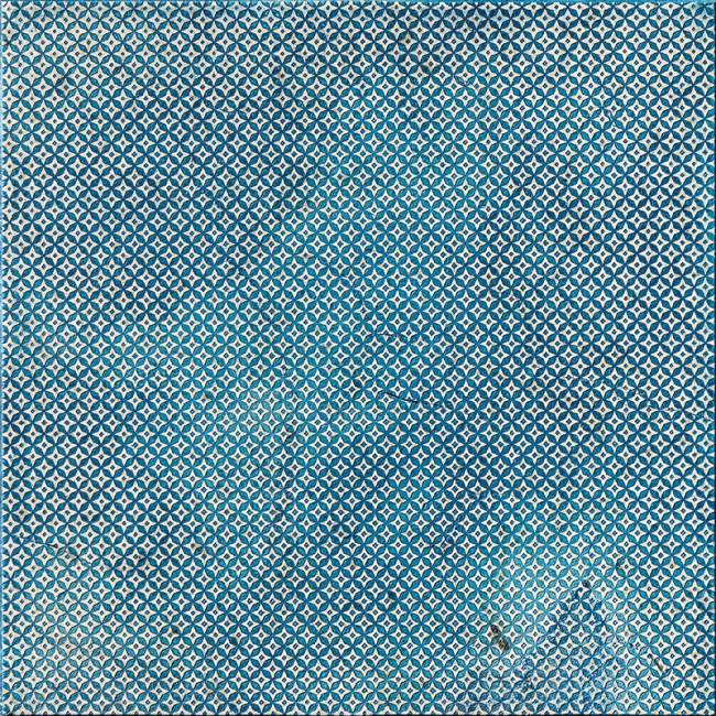 Ottoman Textile 2 Indigo 30,5x30,5 Mermer Fayans