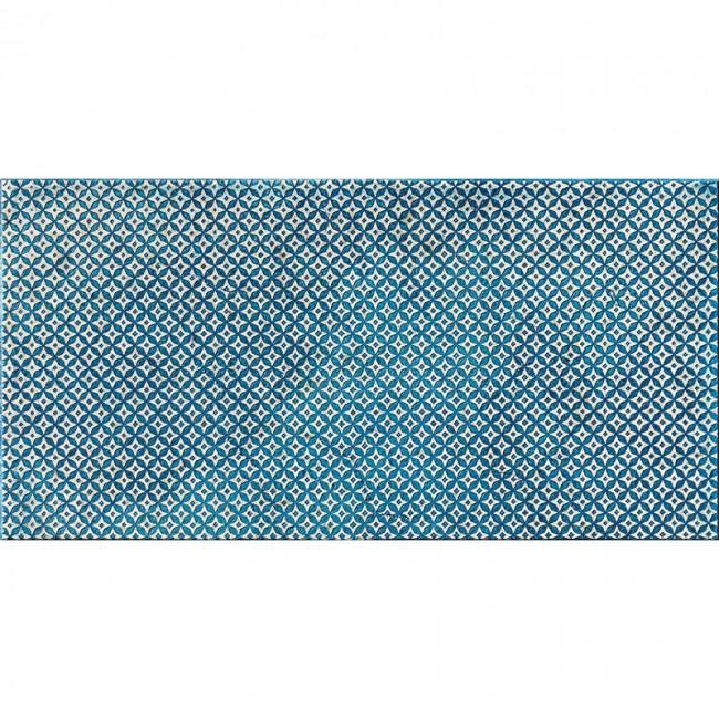 Ottoman Textile 2 Indigo 30,5x61 Mermer Fayans