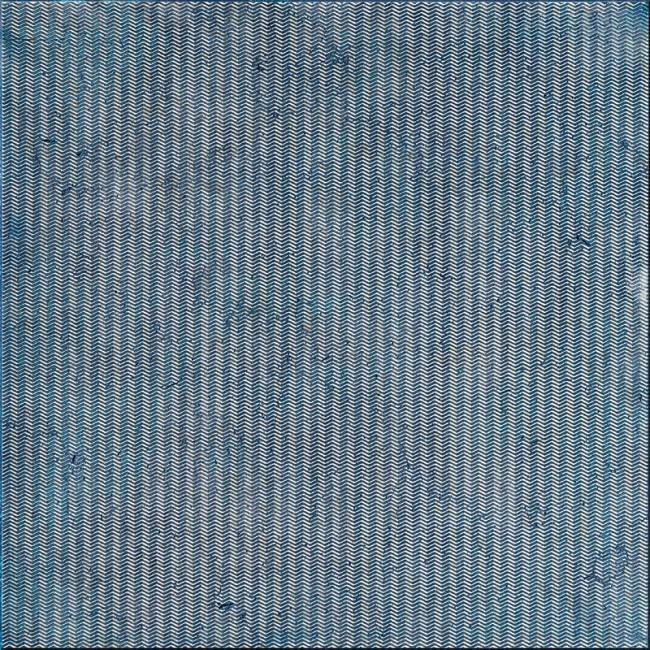 Ottoman Textile 4 Indigo 30,5x30,5 Mermer Fayans