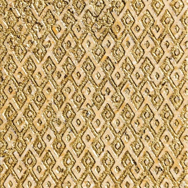 Ottoman Textile 1 Gold 10x10 Mermer Fayans