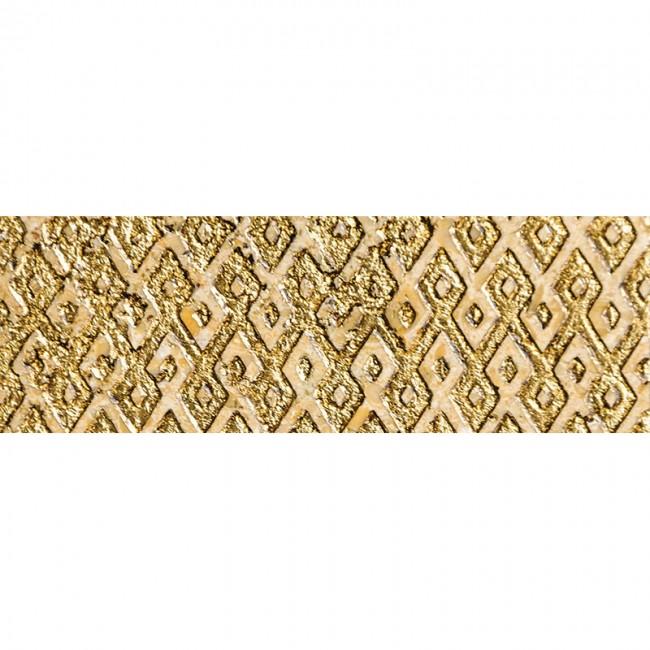 Ottoman Textile 1 Gold 10x30,5 Mermer Fayans