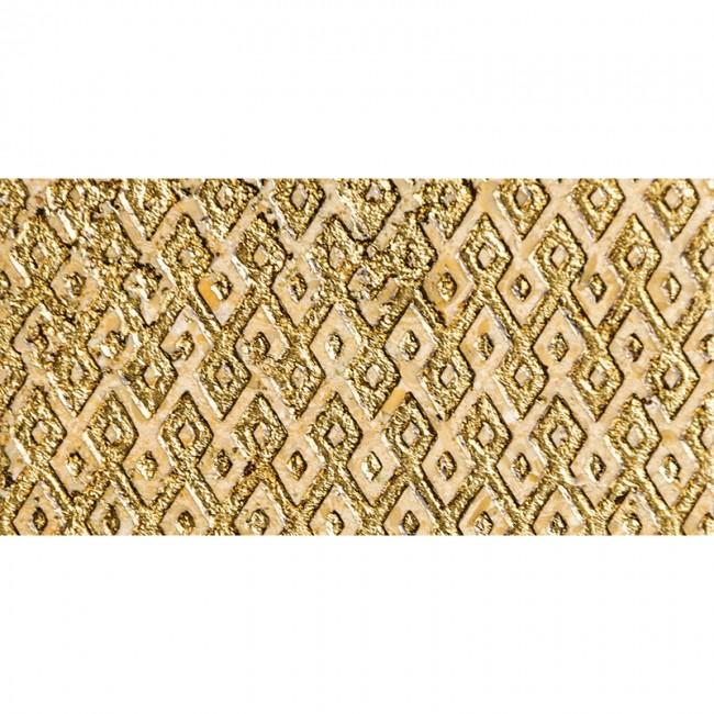 Ottoman Textile 1 Gold 30,5x61 Mermer Fayans