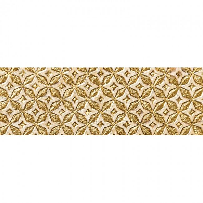 Ottoman Textile 2 Gold 10x30,5 Mermer Fayans