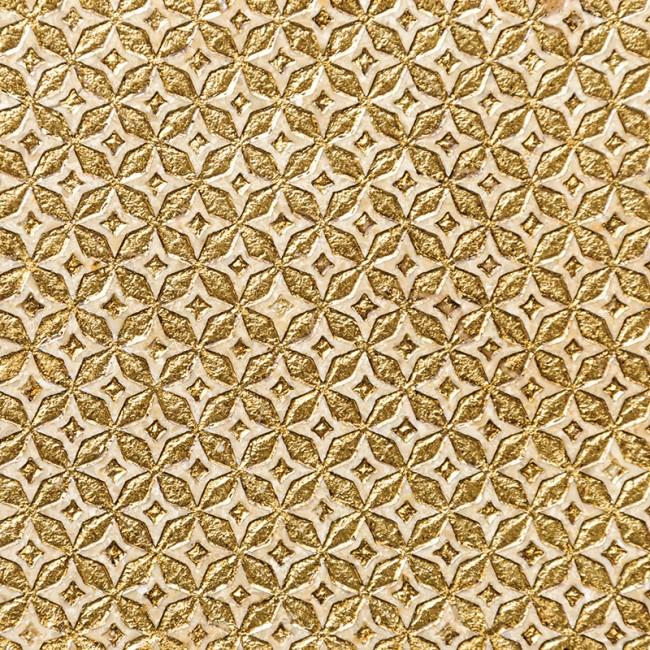Ottoman Textile 2 Gold 30,5x30,5 Mermer Fayans