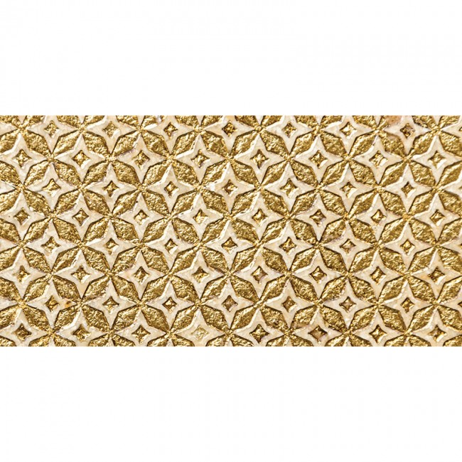 Ottoman Textile 2 Gold 30,5x61 Mermer Fayans