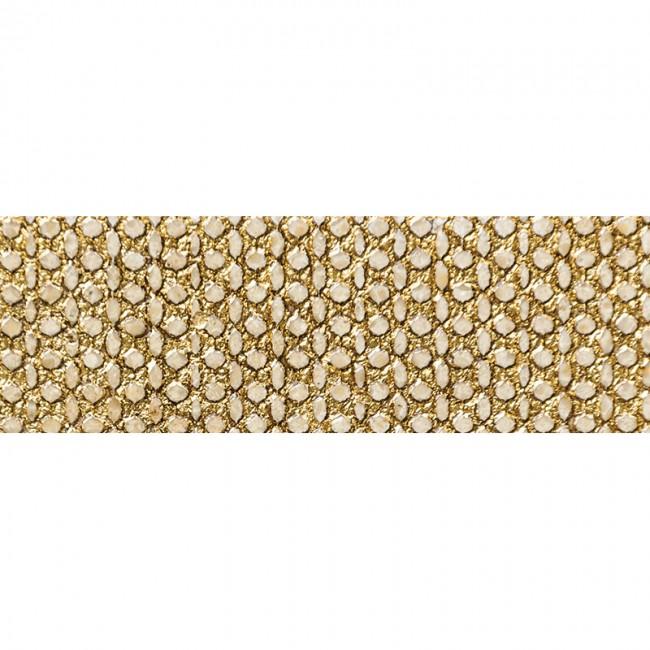 Ottoman Textile 3 Gold 10x30,5 Mermer Fayans